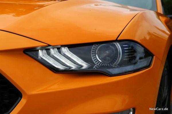 Ford Mustang GT Scheinwerfer