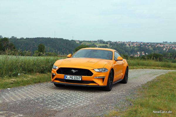 Ford Mustang GT schräg vorn links