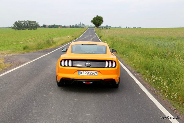 Ford Mustang GT Heck