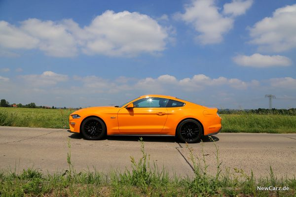 Ford Mustang GT Seite