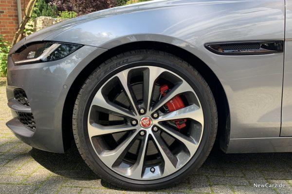 Vorderrad Jaguar XE