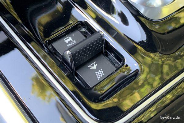 Fahrmodus im Jaguar XE
