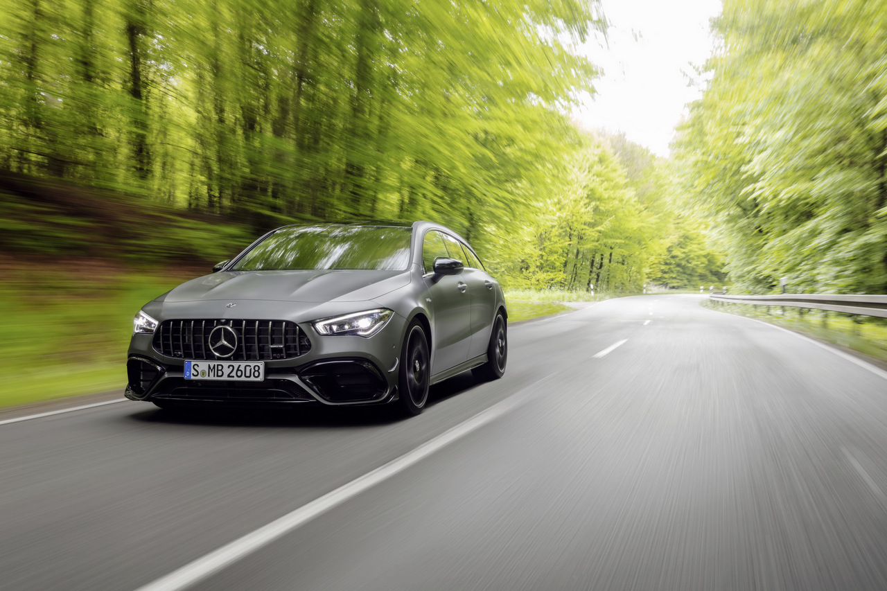 Der neue Mercedes-AMG CLA 45 4Matic+ Shooting Brake
