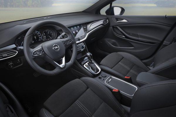Opel Astra K Interieur