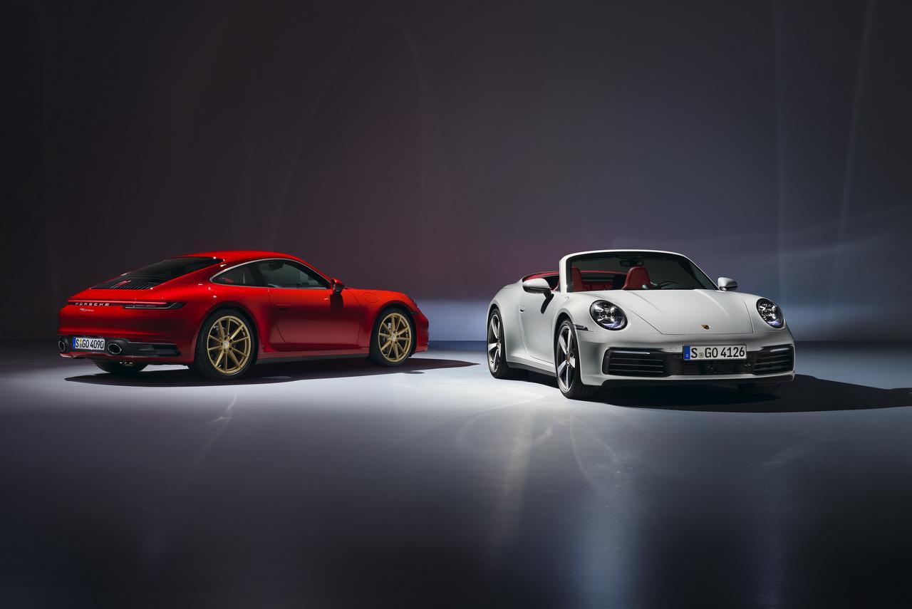 Porsche 911 Coupé und Cabriolet