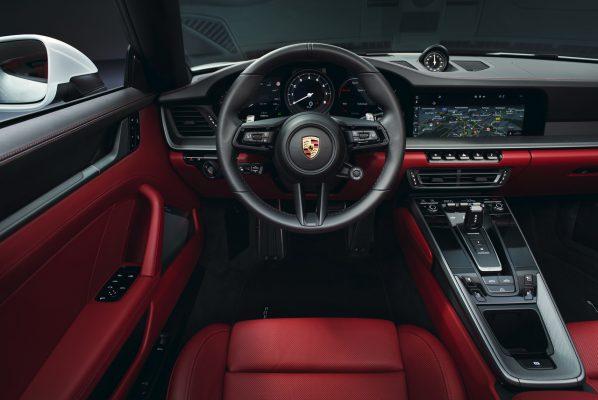Interieur des Porsche 911 Carrera