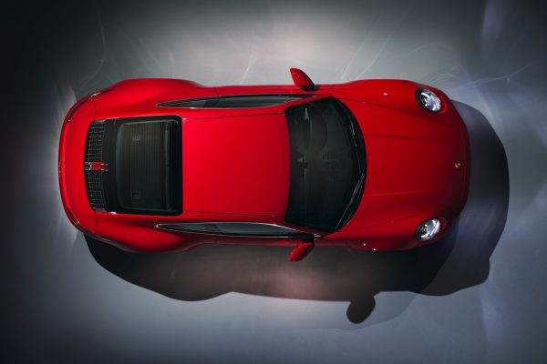 Der neue Porsche 911 Carrera von oben