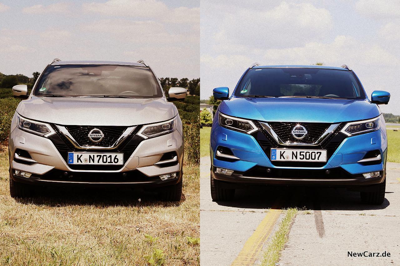 Nissan Qashqai Vergleich