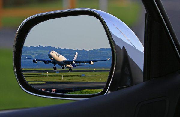 Parken während des Urlaubs