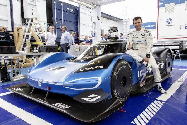 Volkswagen ID.R und Romain Dumas