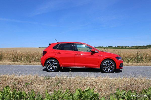 VW Polo GTI Seitenansicht