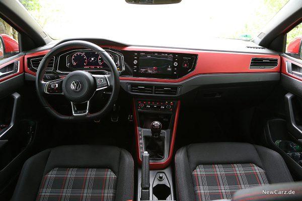 Interieur Polo als GTI