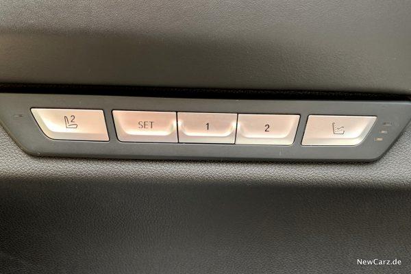 BMW 730d xDrive Memory