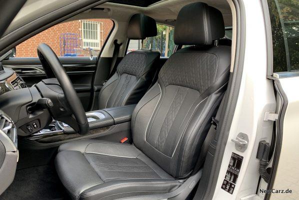 BMW 7er Komfortsitze vorn