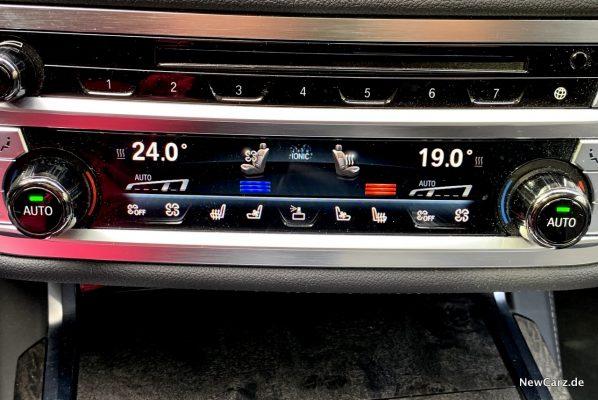 BMW 7er Sitzheizung Sitzbelüftung