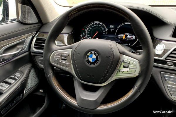 Lederlenkrad BMW 730d xDrive