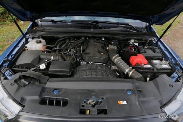 Ford Ranger Raptor Motor