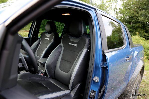 Ford Ranger Raptor Sitze