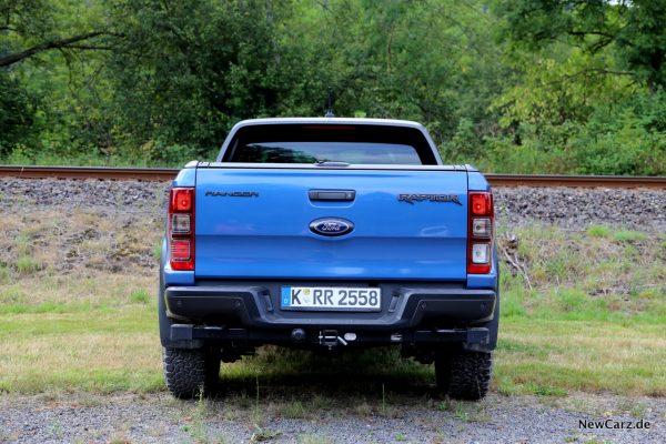 Ford Ranger Raptor Heck