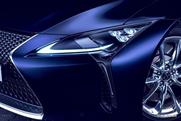Lexus LC 500 Scheinwerfer