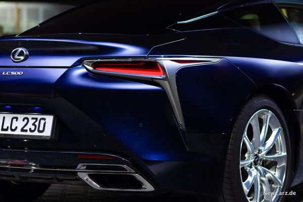 Lexus LC 500 Seite Heck