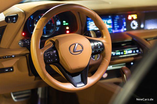 Lexus LC 500 Lenkrad