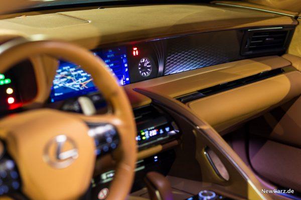 Lexus LC 500 Interieur