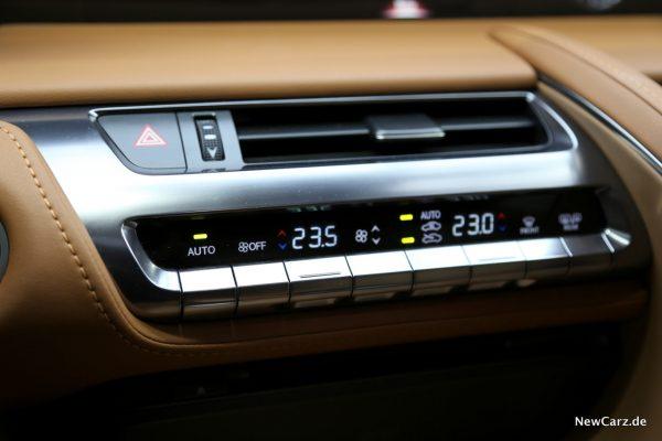 Lexus LC 500 Klimaautomatik
