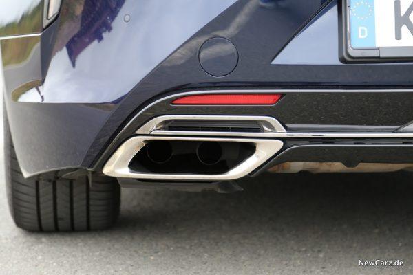 Lexus LC 500 Endrohre