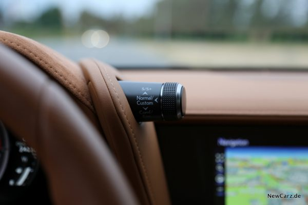 Lexus LC 500 Fahrmodi