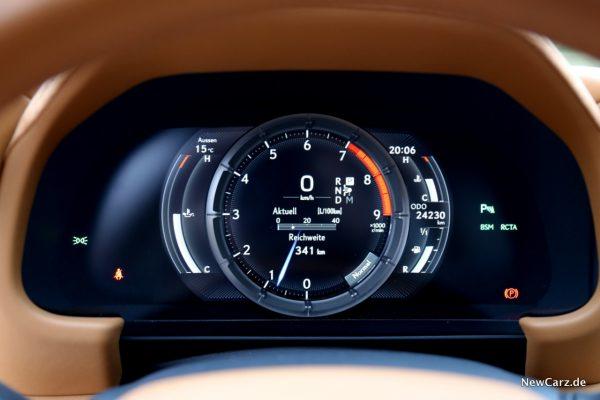 Lexus LC 500 Tacho