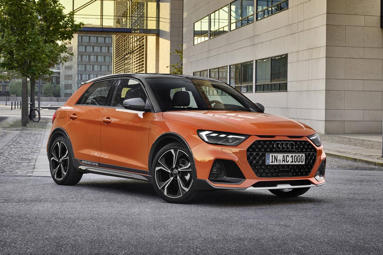 Frontansicht des neuen Audi A1 Citycarver