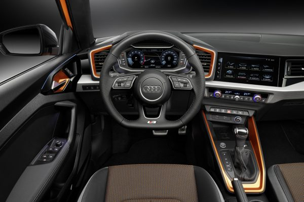 Interieur des neuen Audi A1 Sportback