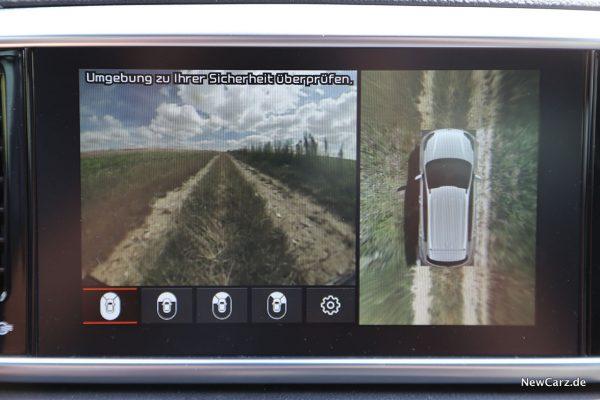 Rundumsicht Kamera Sportage