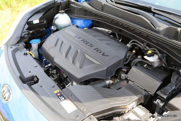 Motorraum 2.0 CRDi Sportage