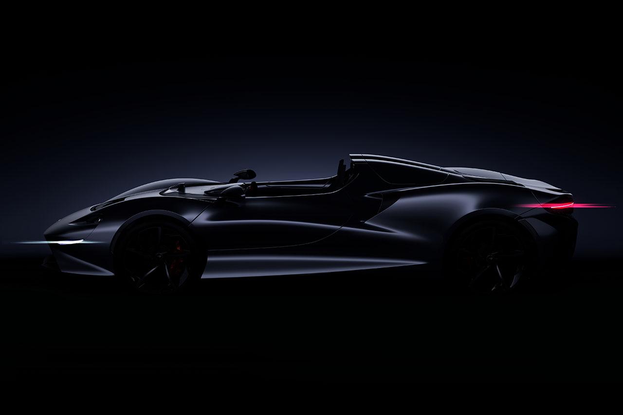 McLaren Roadster Studie 2020
