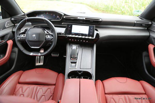 Interieur 508 GT
