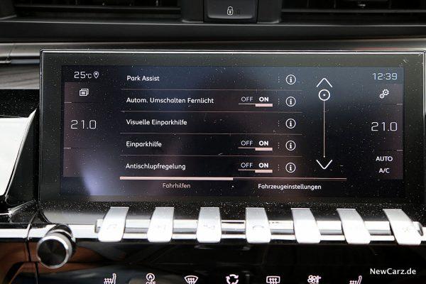 Touchscreen Peugeot