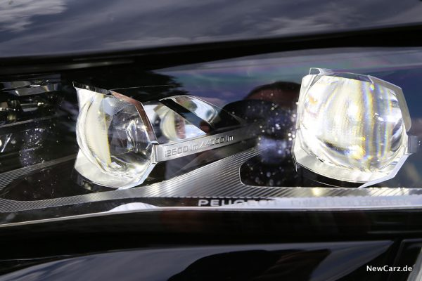 LED-Elemente Scheinwerfer Peugeot 508 SW