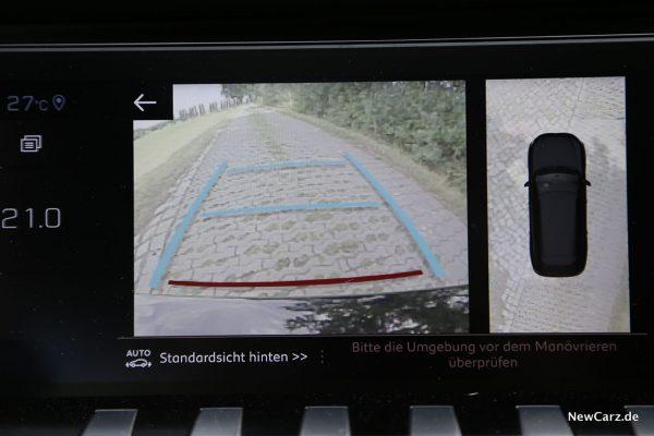 Rückfahrkamera mit 360-Grad-Sicht