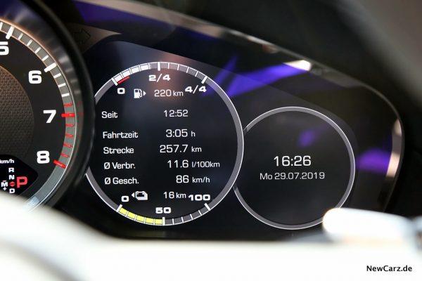 Verbrauch Porsche Cayenne Turbo S E-Hybrid
