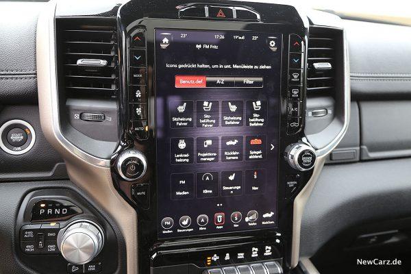 12-Zoll-Touchscreen Laramie