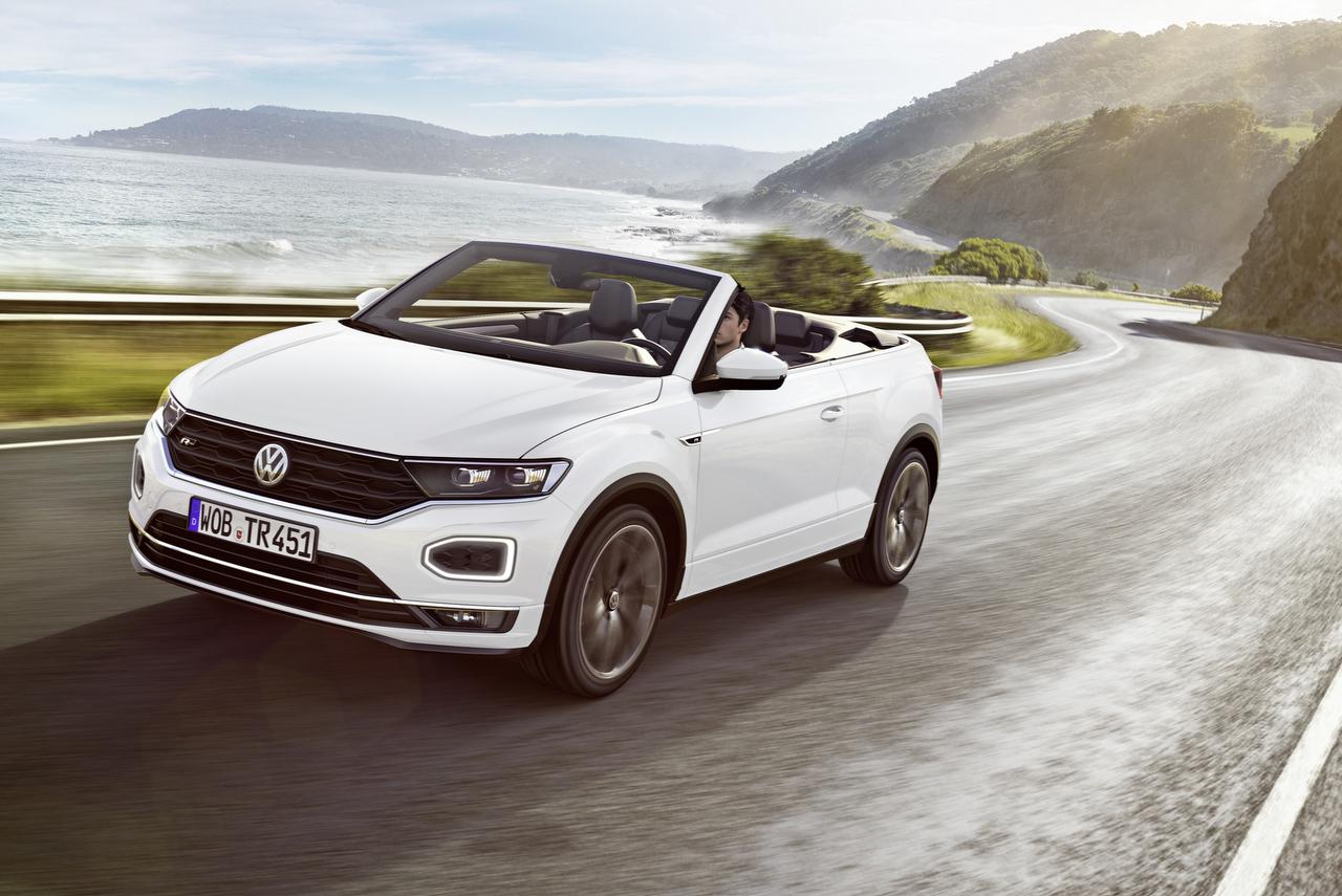 VW T-Roc Cabriolet Studie