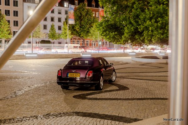 Bentley Mulsanne EWB Seite