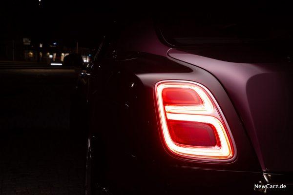 Bentley Mulsanne EWB Heckleuchte