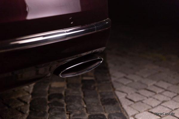 Bentley Mulsanne EWB Abgasanlage