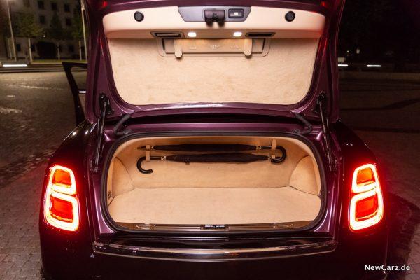 Bentley Mulsanne EWB Kofferraum
