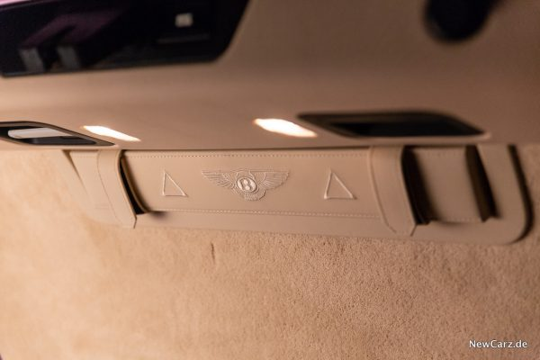 Bentley Mulsanne EWB Warndreieck