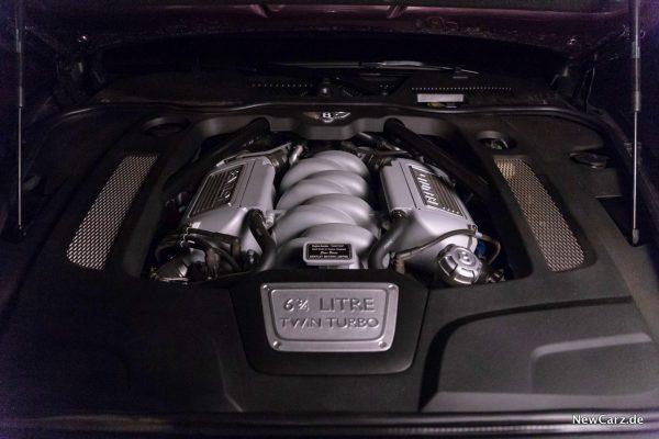 Bentley Mulsanne EWB Motor