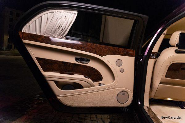 Bentley Mulsanne EWB hintere Tür